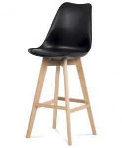 Barová židle  JULIETTE - Židle černá - Sconto nábytek