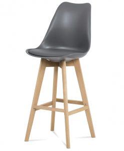 Barová židle  JULIETTE - Židle šedá - Sconto nábytek