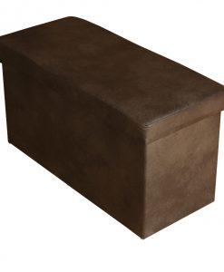 Taburet  GABRIEL - Taburety hnědá - Sconto nábytek