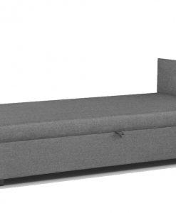 Postel  MUKKE - Postele šedá - Sconto nábytek