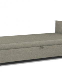 Postel  MUKKE - Postele béžová - Sconto nábytek