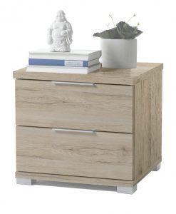 Noční stolek   KORON 2 - Noční stolky barva dřeva - Sconto nábytek