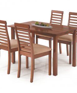 Jídelní souprava  KOALA - Židle barva dřeva - Sconto nábytek