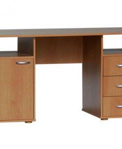 Psací stůl   KUBA - Stoly a stolky barva dřeva - Sconto nábytek