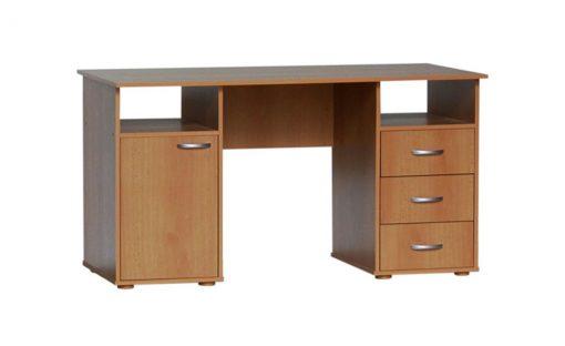 Psací stůl   KUBA – Stoly a stolky barva dřeva