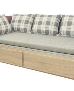 Rozkládací válenda s matrací  MAURIZIO - Postele vícebarevná - Sconto nábytek