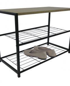 Botník  FU122JW - Skrinky na topánky barva dřeva - Sconto nábytek
