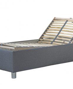 Postel s polohovacím roštem  NEPTUN - Postele šedá - Sconto nábytek