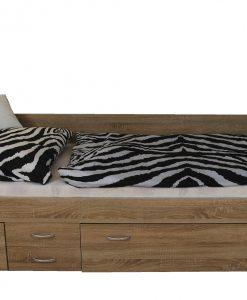 Válenda  ALEŠ - Postele barva dřeva - Sconto nábytek