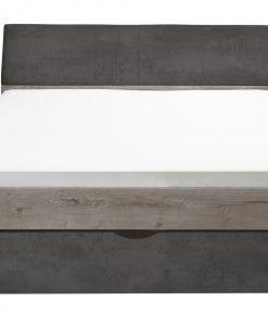 Postel   MERWIN - Postele barva dřeva - Sconto nábytek