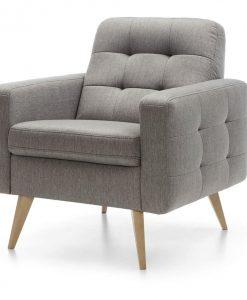 Křeslo   NAPPA - Křesla šedá - Sconto nábytek