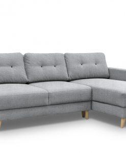 Sedací souprava  FRAY - Sedací soupravy šedá - Sconto nábytek