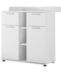 Přebalovací komoda  INNES - Přebalovací pulty bílá - Sconto nábytek