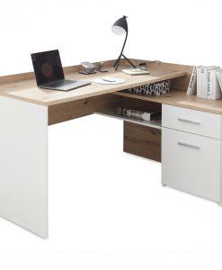 Psací stůl  CHILLE - Stoly a stolky bílá - Sconto nábytek