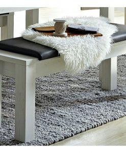 Jídelní lavice   LIMA 03 - Lavice šedá - Sconto nábytek