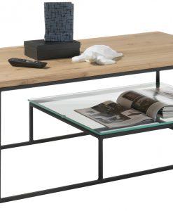 Konferenční stolek  THORE - Stoly a stolky barva dřeva - Sconto nábytek